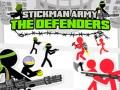 Spelletjes Stickman Army: The Defenders